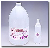 Pet stain solvent compound